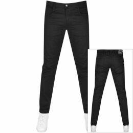 Ralph Lauren Long Sleeved Hooded T Shirt Black