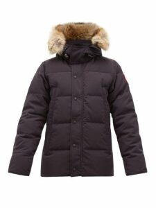 Canada Goose - Wyndham Quilted Down Hooded Parka - Mens - Navy