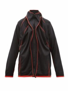 Y/project - Pleated Track Jacket - Mens - Black