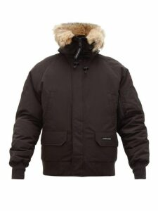 Canada Goose - Chilliwack Down Filled Hooded Coat - Mens - Black