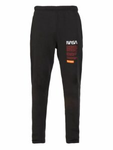 Heron Preston - Nasa Print Track Pants - Mens - Black Multi