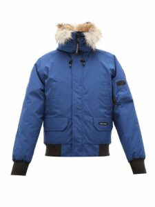 Canada Goose - Chilliwack Down Filled Hooded Coat - Mens - Dark Blue