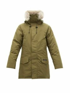 Canada Goose - Langford Quilted Down Hooded Parka - Mens - Dark Green