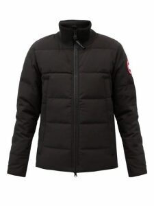 Canada Goose - Woolford Quilted Down Jacket - Mens - Black