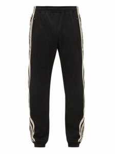 Gucci - Gg Jacquard Side Stripe Track Pants - Mens - Black