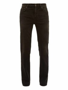 Balenciaga - Distressed Slim Leg Jeans - Mens - Black