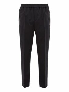 Stella Mccartney - Piet Wool Twill Trousers - Mens - Navy