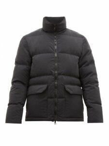 Officine Générale - Lenny Quilted-down Jacket - Mens - Black