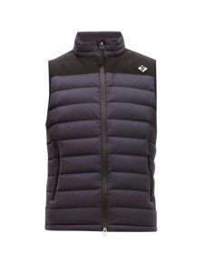 Burberry - Tb Logo Quilted Down Gilet - Mens - Navy