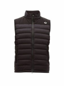 Burberry - Tb Logo Quilted Down Gilet - Mens - Black