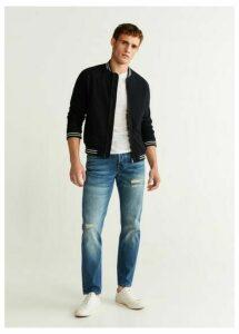 Regular fit dark wash Steve jeans
