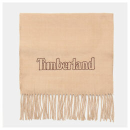 Timberland Scarf Gift Box For Men In Taupe Taupe, Size ONE