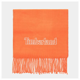 Timberland Scarf Gift Box For Men In Orange Orange, Size ONE