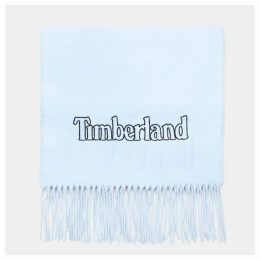 Timberland Scarf Gift Box For Men In Light Blue Light Blue, Size ONE