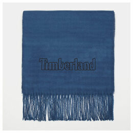 Timberland Scarf Gift Box For Men In Blue Blue, Size ONE