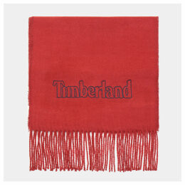 Timberland Scarf Gift Box For Men In Burgundy Burgundy, Size ONE