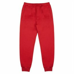 Y-3 Red Jersey Sweatpants