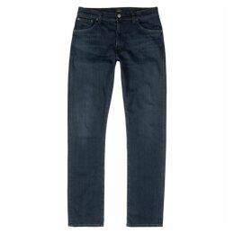 Citizens Of Humanity Bowery Dark Blue Slim-leg Jeans