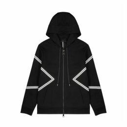 Neil Barrett Modernist Black Stretch-jersey Sweatshirt