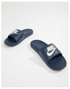 Nike Benassi jdi sliders in navy