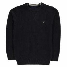 Gant Waffle Crew Sweater