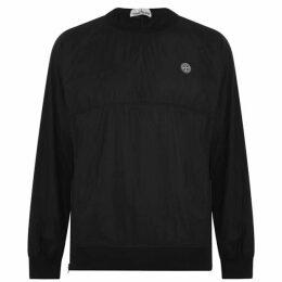 Stone Island Nylon Metallic Crew Sweatshirt
