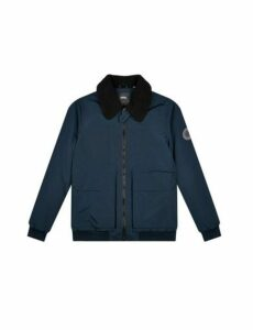 Mens Navy Ma-1 Flight Bomber Jacket, Blue