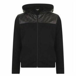 Fendi Panel Hooded Sweatshirt