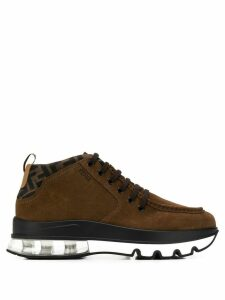 Fendi lace-up boots - Brown