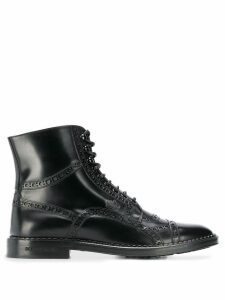 Dolce & Gabbana lace-up ankle boots - Black