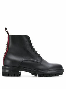 Dsquared2 logo lace-up boots - Black