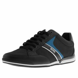 BOSS HUGO BOSS Saturn Lowp Trainers Black
