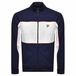 Lyle And Scott Colour Block Track Top Navy