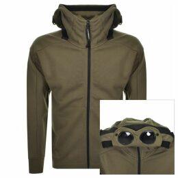 CP Company Full Zip Goggle Hoodie Green