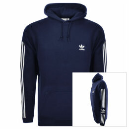 adidas Originals Lock Up Logo Hoodie Navy