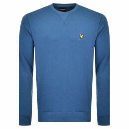 Lyle And Scott Crew Neck Sweatshirt Blue