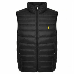 Ralph Lauren Holden Down Gilet Black