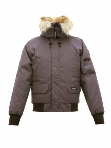 Canada Goose - Chilliwack Down Filled Hooded Coat - Mens - Grey
