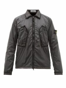 Stone Island - Garment Dyed Shell Jacket - Mens - Black