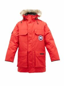 Canada Goose - Expedition Down Filled Hooded Parka - Mens - Red