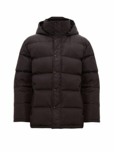 Wardrobe. nyc - Hooded Quilted Down Jacket - Mens - Black