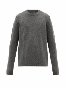 Iris Von Arnim - Quinn Cashmere Blend Bouclé Sweater - Mens - Grey