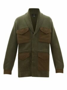Alanui - Gabardine Pocket Cashmere Field Jacket - Mens - Green