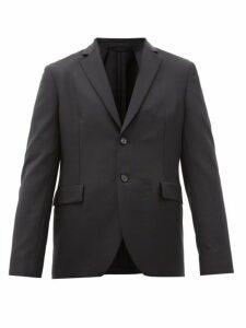 Acne Studios - Antibes Single Breasted Wool Blend Jacket - Mens - Black
