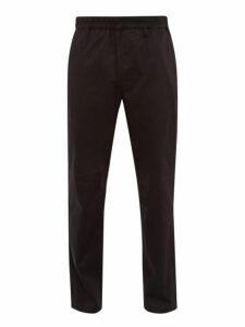 Acne Studios - Paco Cotton Blend Trousers - Mens - Black