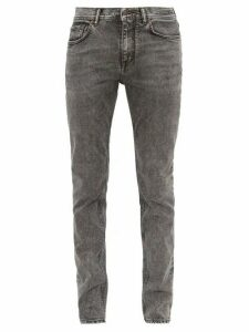 Acne Studios - North Mid Rise Slim Leg Jeans - Mens - Dark Grey