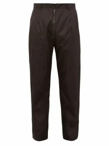 Prada - Slim Fit Technical Trousers - Mens - Black