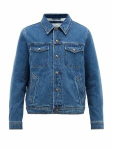 Ami - Denim Jacket - Mens - Blue