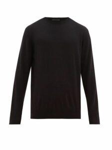 Wardrobe. nyc - Merino Wool Sweater - Mens - Black