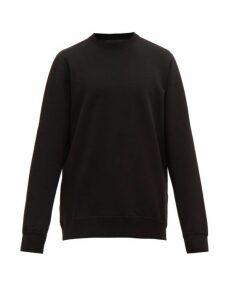 Wardrobe. nyc - Long Line Loop Back Jersey Sweatshirt - Mens - Black